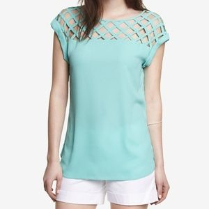 Express Blouse in TURQUOISE